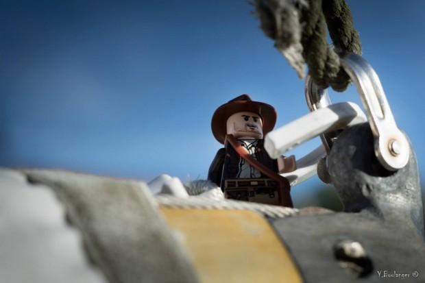 Proue de bateau marin Indiana jones Figurine Lego Yohann Boulanger Photographe
